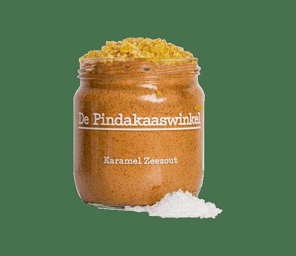 Pindakaas Karamel Zeezout