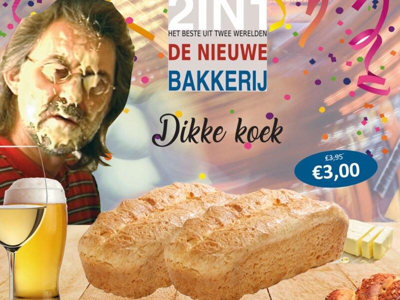 Dikke koek - Bakkerij 2in1
