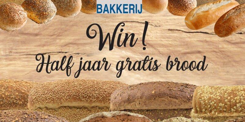 Win! Half jaar lang gratis brood