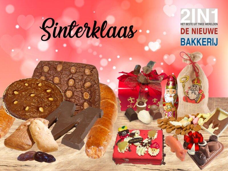 Sinterklaas bij Bakkerij 2in1